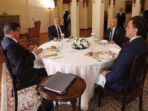 Davutoğlu İle Kılıçdaroğlu'nun Görüşmesi Sona Erdi
