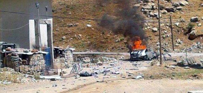 Sivil Araca Bomba Koyup Tehditle Karakola Sürdüler