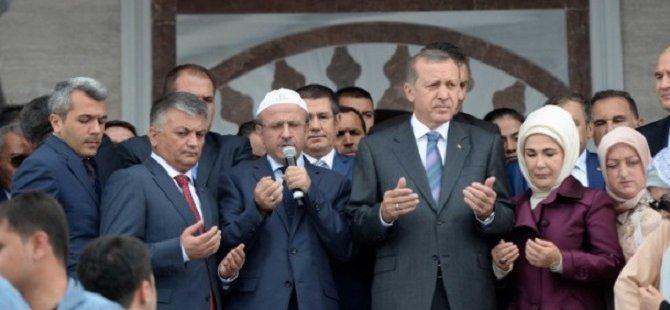 Erdoğan Kıbledağı Camisi'ni Açtı