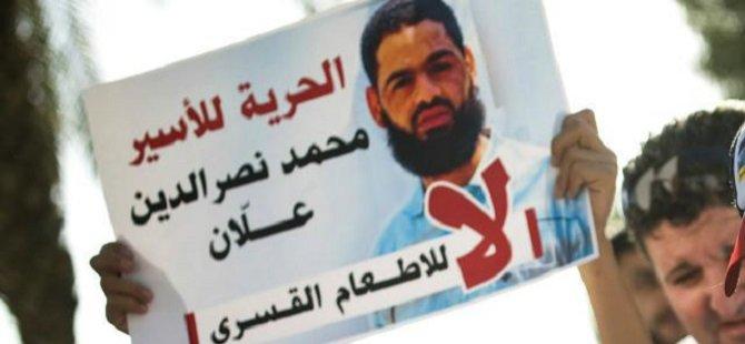 Açlık Grevi Yapan Filistinli Mahkum Solunum Cihazında