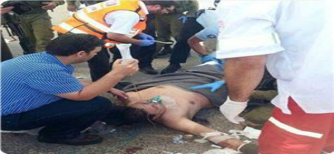 Batı Yaka'da Siyonist Asker Bıçaklandı
