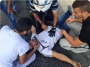 Kudüs'te Siyonistin Çarptığı Filistinli Genç Yaralandı