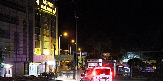 Van AK Parti Binasının Yakınına Bomba Bırakıldı!