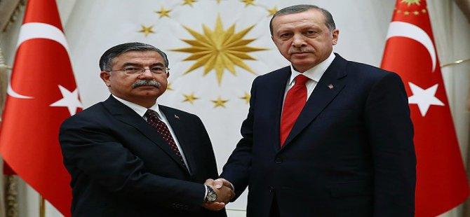 Erdoğan TBMM Başkanı Yılmaz'ı Kabul Etti