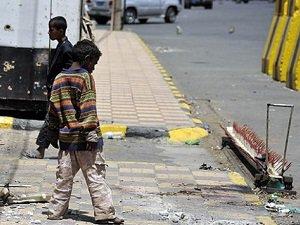 """""""Yemen'de 4 Ayda 400 Çocuk Öldürüldü"""""""