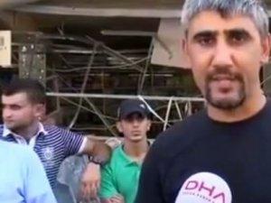 PKK'lı Militan Yöre Halkı Gibi Röportaj Verdi