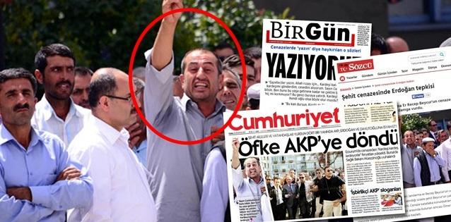 """""""Şehit Yakını"""" Değil, PKK Sempatizanıymış!"""