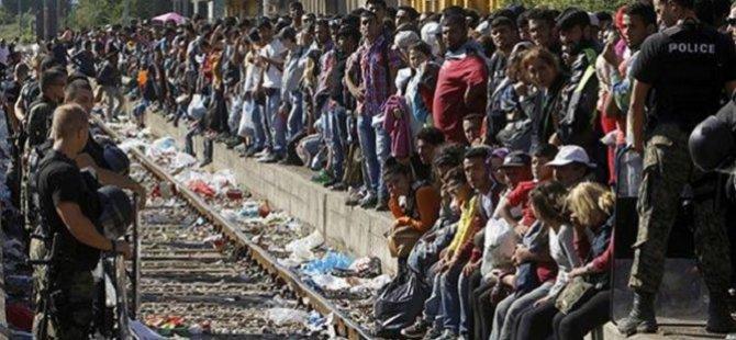 Binlerce Mülteci AB'ye Yürüyor