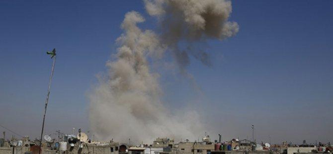Esed Rejimi Duma'ya Havadan Saldırdı 11 Can Aldı