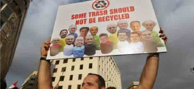 """""""Lübnan'daki Mesele Yalnızca Çöp Değil"""""""