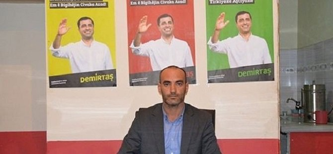 HDP'li Başkan Dağa PKK'lı Götürürken Yakalandı