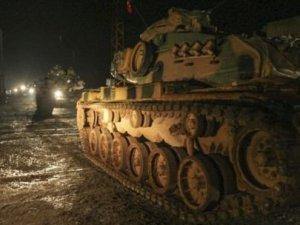 TSK Karadan IŞİD Hedeflerini Bombalıyor