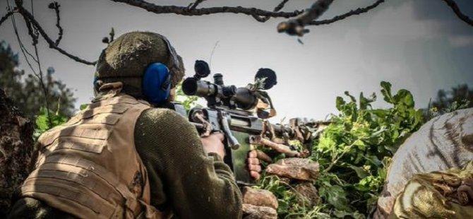 Ahraruş Şam'a Mensup Keskin Nişancı Tek Tek Vurdu (VİDEO)