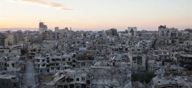 Esed Şam'ı Afet Bölgesine Çevirdi