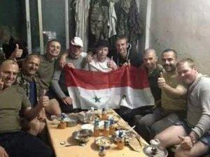 Esed'e Destek İçin Suriye'ye Gidecek Rus Askerler Görüntülendi