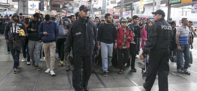 13 Bin Sığınmacı Almanya'da