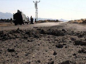 PKK'dan Dağlıca'da Askeri Araçlara Bombalı Saldırı