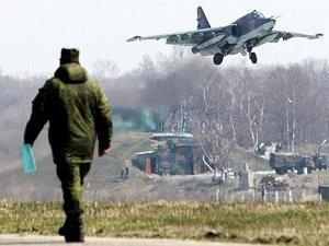 Esed Destekçisi Rus Uçakları Yunanistan Hava Sahasında