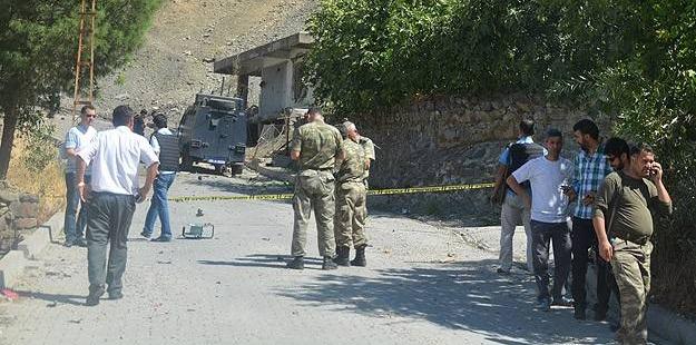Siirt'te Patlayıcı Yüklü Araç İnfilak Ettirildi
