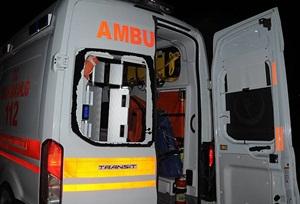 Mardin'de PKK'lılar Bir Ambulansa Daha Saldırdı!