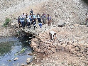 PKK'ya Tepki Gösterip Köprü Yaptılar