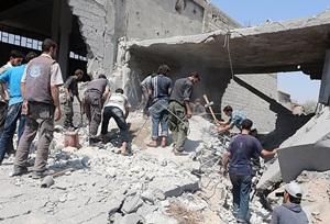 Koalisyon Güçlerinin Saldırılarında 74'ü Çocuk, 243 Sivil Katledildi!