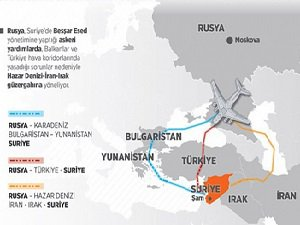 Rusya Esed'e Yardım İçin Hava Koridoru Arayışında