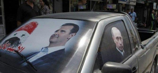 'Rus Birlikleri Suriye'de Esed İçin Savaşıyor'