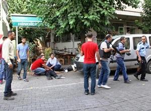Lokantada Çorba İçen Polislere Silahlı Saldırı!
