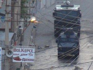 Cizre'de Polise Roketatarlı Saldırı