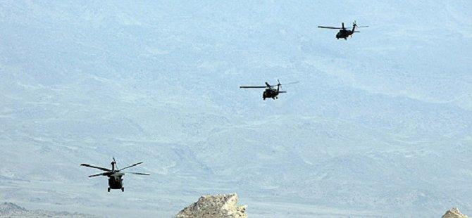 Irak'ın Kuzeyindeki PKK Kampları Bombalandı