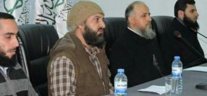 Ahrar-u  Şam'da Komutan Değişikliği