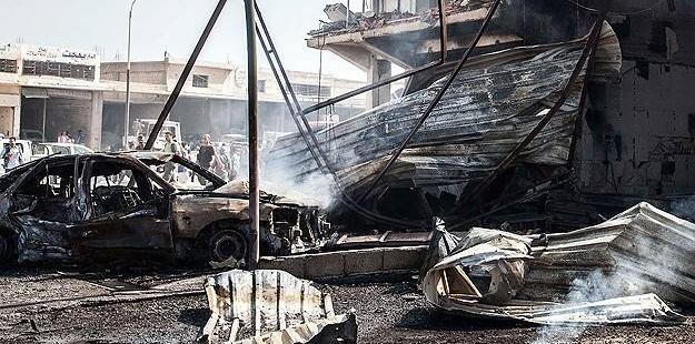 IŞİD'ten Haseke'de Bomba Yüklü Araçla Saldırı