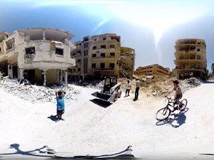 Suriye'deki Rejim Yıkıntıları E3D Teknolojisiyle Görüntülendi