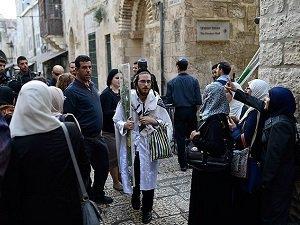 Yahudi Yerleşimcilerin Mescid-i Aksa Baskını