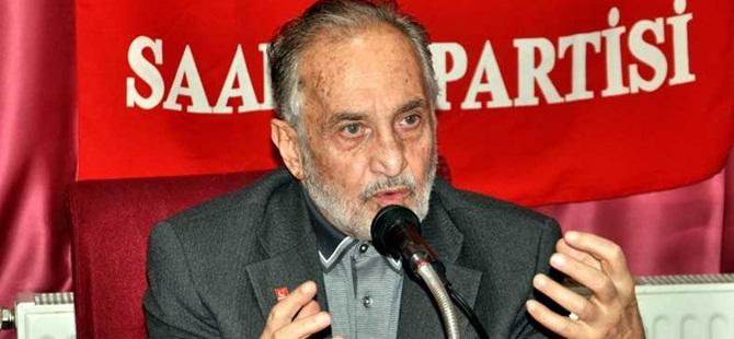 Saadet Partisi ile AK Parti Arasında Seçim İşbirliği Yok