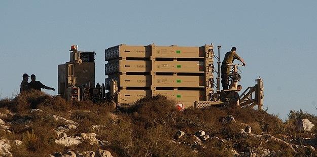 """Siyonist İsrail """"Demir Kubbe""""yi Aşdod Bölgesine Yerleştirdi"""