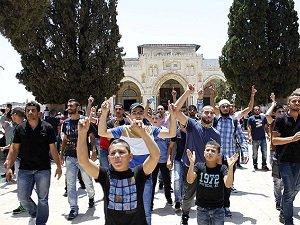 Kudüs'ün Gençleri Aksa İçin 'Tek Vücut'