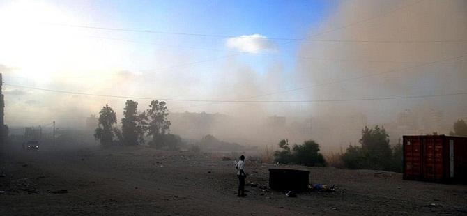 Siyonist İsrail, Gazze'ye Hava Saldırısı Düzenledi!