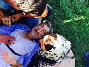 Hırvatistan Polisi Kalp Krizi Geçiren Mülteciye Seyirci Kaldı!