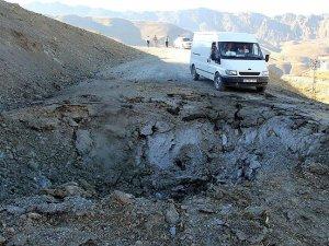 Hakkari'de 1,5 Ton Patlayıcı Yüklü Araç İnfilak Ettirildi