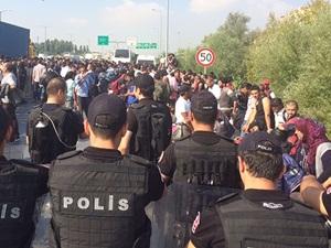 Mültecilerin İstanbul Otogarındaki Bekleyişi Sona Erdi