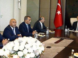 Erdoğan, Knesset Üyesi Arap Milletvekilleri İle Görüştü