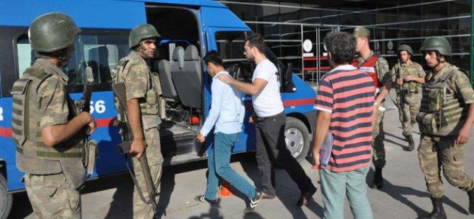 Operasyon Bölgesine Giren HDP'liler Tutuklandı