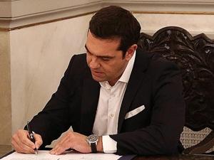 Çipras, Hükûmet Programını Açıkladı