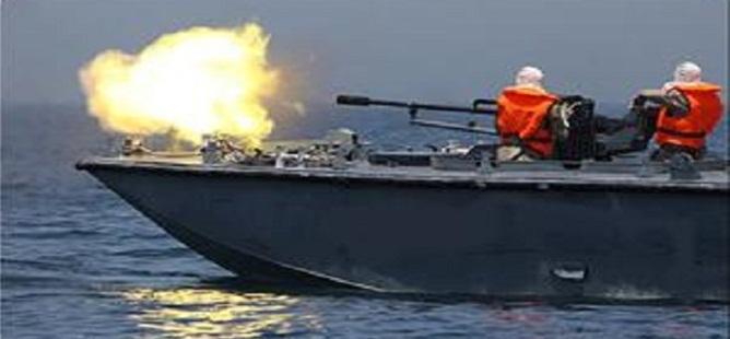 İsrail Donanması Gazze Şeridi Sahiline Top Atışı Yaptı!
