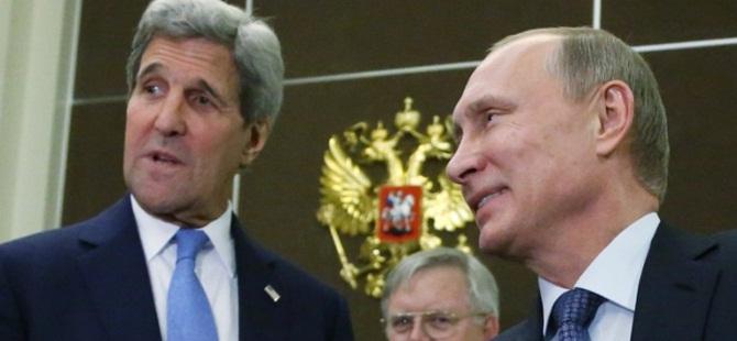 Kerry Konuşuyor, Esed ve Rusya Vuruyor