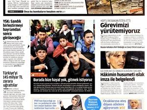 Zaman'ın Vicdan Terazisi ve Kullanışlı Mülteciler!