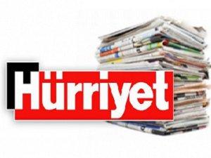 Şimdi de Hürriyet Gazetesi...