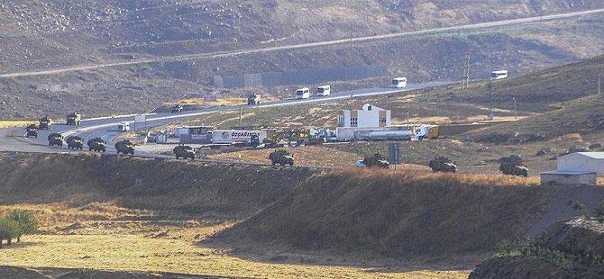 Şırnak'ta Askerler Sınıra Kaydırıldı